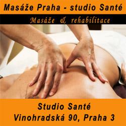 Masáže Praha – studio Santé