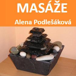 MASÁŽE Alena Podlešáková