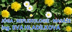 Ing. Eva Hladílková - reflexní terapie, masáže, jóga