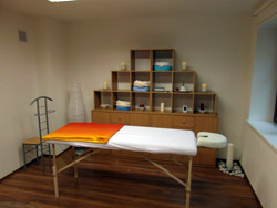 Centrum Harmonie - masáže a terapie - interiér salonu
