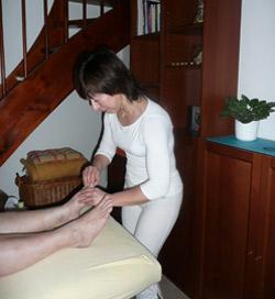 ing. Eva Hladílková - Reflexní terapie