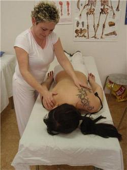 Masáže Kahty - rekondiční masáž
